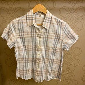Burberry Button Up Shirt - Size L